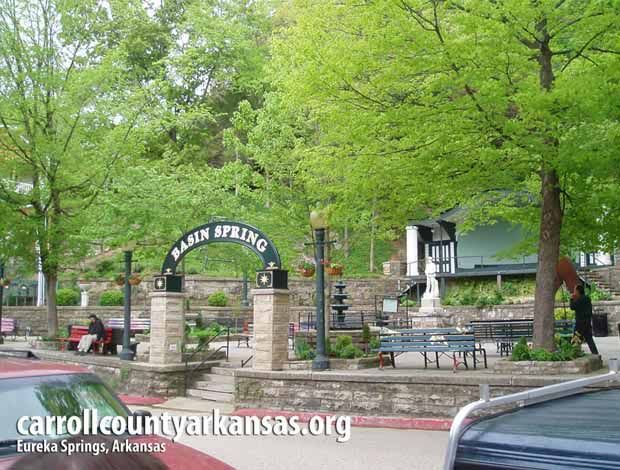 Basin Spring - Eureka Springs  - Carroll County Arkansas
