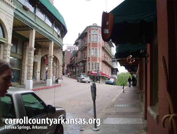 Flatiron Building - Eureka Springs  - Carroll County Arkansas
