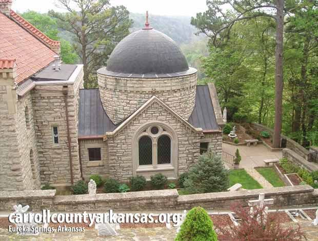 Saint Elizabeth Church - Eureka Springs  - Carroll County Arkansas