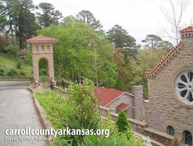 Saint Elizabeth Church in Eureka Springs  - Carroll County Arkansas