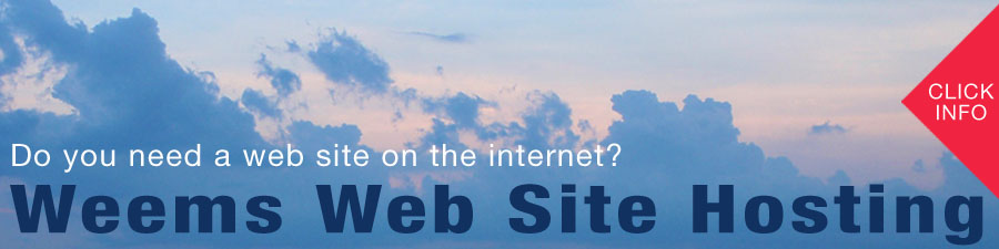 Weems Website Hosting