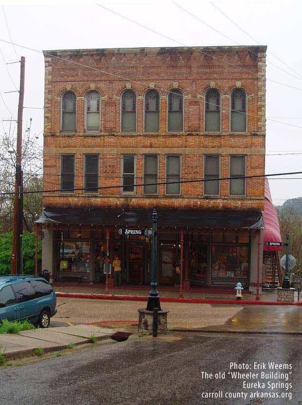 Wheeler Building - Eureka Springs Arkansas