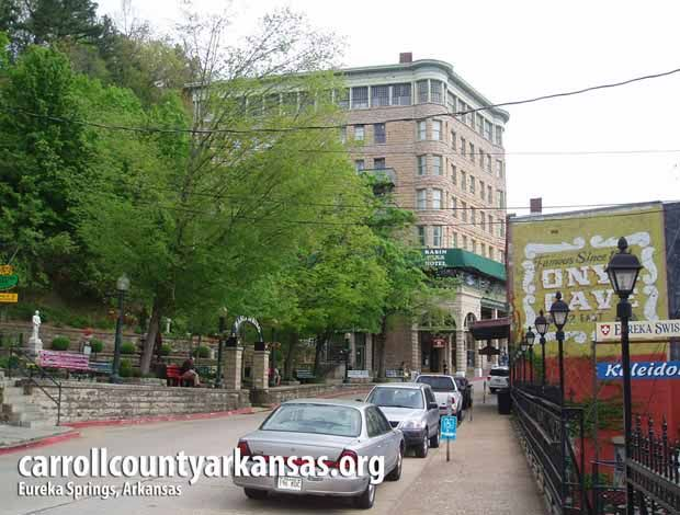 Eureka Springs  - Carroll County Arkansas